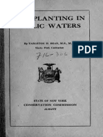 Fish Planting in Public Waters 1916
