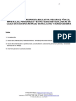 Intervencion en Respuesta Educativa Ceguera y Sordoceguera