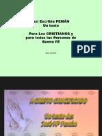A Cristo Crucificado Peman