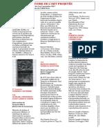 Pour une histoire de l'art projetée / Centre Pompidou / Paris / November 3-5, 2017.