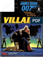 James Bond RPG - Villains.pdf