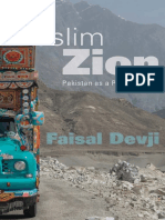 DEVJI 2013 - Muslim Zion. Pakistan as a Political Idea