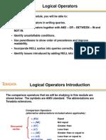 SQL03 Operators