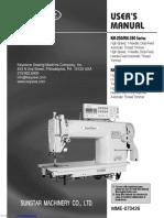 Instruction Manual Sunstar KM-250_series.Pdf