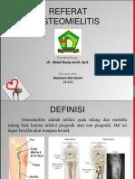 Ppt Osteomielitis