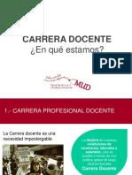 MUD - Análisis Carrera Docente Con Indicaciones (Agosto)