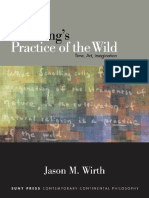 Schelling, Friedrich Wilhelm Joseph Von; Wirth, Jason M Schellings Practice of the Wild Time, Art, Imagination