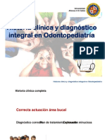 MG2 Hª Cª Y DIAGNÓSTICO EN ODONTOPEDIATRÍA