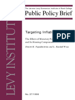 1996 - Papadimitrou and Wray - The effects of monetary policy on the CPI and its housing component.pdf