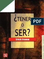 FROMM, Erich - Tener o ser.pdf