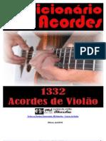 Dicionário de Acordes de Violão