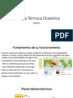 Energía Térmica Oceánica
