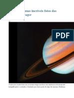 Reveja Algumas Incríveis Fotos Das Missões Voyager