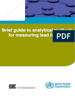 Analytical Methods for Measuring Lead in Paint
