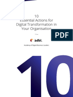 Whitepaper-10 Essential Actions for Digital Transformation in Your Organisation