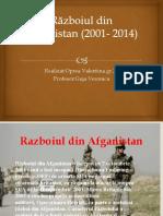 Războiul Din Afganistan (2001- 2014)