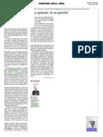 Preghiera d'acciaio di Angela Bubba sul Corriere
