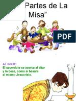 Partes de La Misa Eucarista2178 130601075252 Phpapp02
