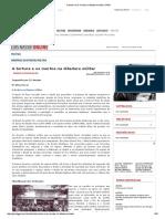 A Tortura e Os Mortos Na Ditadura Militar _ GGN