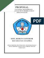 PROPOSAL Blockgrant Sdn Kb Sangkor
