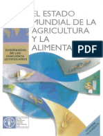 El Estado de La Agricultura y La Alimentacion Mundial 2001FAO