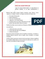 Perú Un Lugar Popular