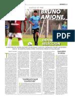 Entrevista a Bruno Amione (juvenil de Belgrano)