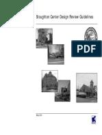 Town Center Design Guidelines - Stoughton