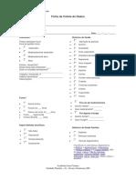 Ficha de Coleta Para Avaliação Física