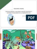 Segunda Unidad - Metodo Cientifico y Entorno Tecnológico de Lña Ingeniería Civil