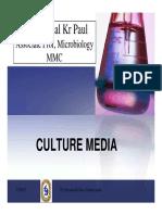 Culture Media by Shyamal