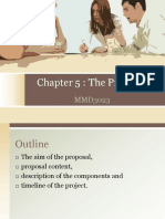 CHAPTER 9 THE PROPOSAL