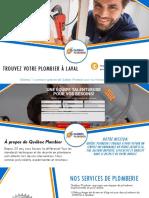 Plombier à Laval pour votre plomberie au meilleur prix - Québec Plombier