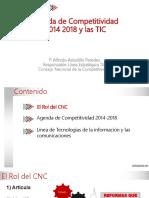 Agenda de Competitividad