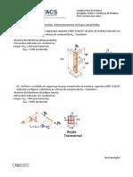 Lista Estruturas de Madeira Compressão