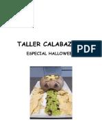 Taller Especial Calabaza y Halloween