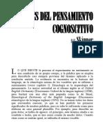 BF Skinner - Orígenes Del Pensamiento Cognoscitivo