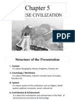 CHAPTER 5 Chinese Civilization 2015 SD