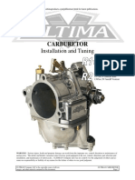 Ultima Carburetor Instructions