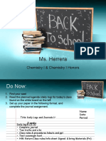 Classroom Rules & Procedures