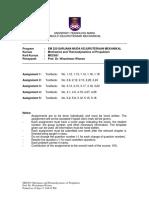 201709 MEC651 Assignments