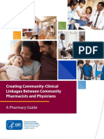 Creating Community-Clinical Linkages Between Community Pharmacists and Physicians
