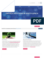 Fintech Solutions in South Africa