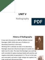 Unit v Radiography