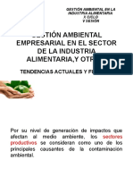 Gestión Ambiental Empresarial en El Sector de La 22