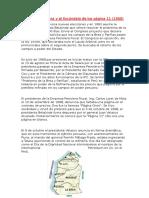 El Acta de Talara y El Escándalo de Los Página 11