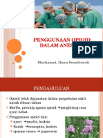 Pengunaan Opioid Dalam Anestesi Final 1