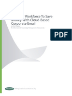 Forrester Tier Your Workforce to Save Money With Cloud-Based Corporate Email
