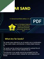 Week 3 Tar Sand