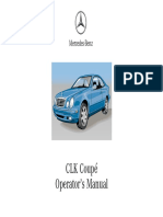 320 CLK Manual